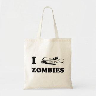 I zombis de la ballesta bolsa lienzo