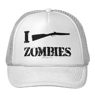 I zombis de la escopeta gorras de camionero