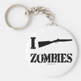 I zombis de la escopeta llaveros