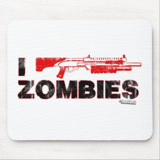 I zombis de la escopeta - mutante Zomb de la matan Alfombrilla De Ratones