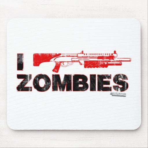 I zombis de la escopeta - mutante Zomb de la matan Tapete De Ratón