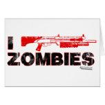 I zombis de la escopeta - mutante Zomb de la matan Tarjeta