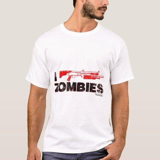 I zombis de la escopeta - mutante Zomb de la Playera