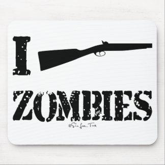 I zombis de la escopeta alfombrilla de raton