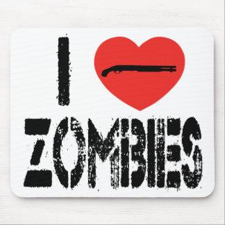 I zombis de la escopeta tapete de ratones