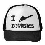 I zombis de la motosierra gorras