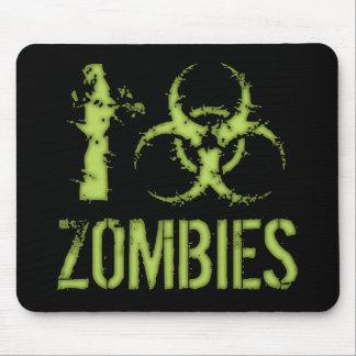 I zombis del Biohazard Tapetes De Ratón
