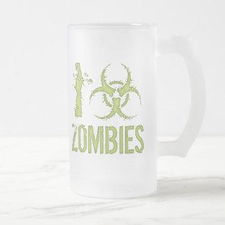 I zombis del Biohazard Taza De Cristal