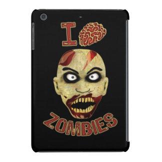 I zombis del cerebro funda para iPad mini