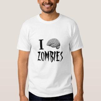 I zombis del cerebro remeras