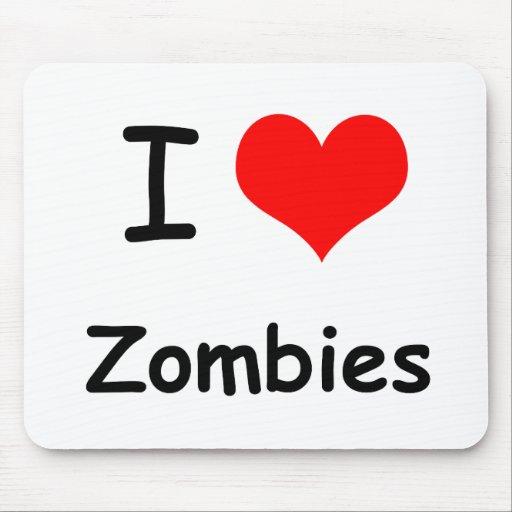 I zombis del corazón alfombrillas de raton