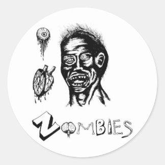 I zombis del corazón amor etiqueta