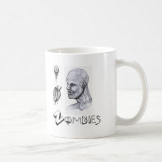 I zombis del corazón (amor) taza clásica