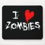 I zombis del corazón - cojín de ratón tapetes de raton