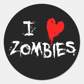 I zombis del corazón - pegatina