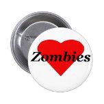 I zombis del corazón pins
