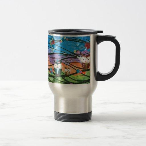 ia (c) 2013 – Owl Family Trees Coffee Mugs