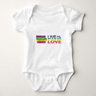 IA Live Let Love Baby Bodysuit