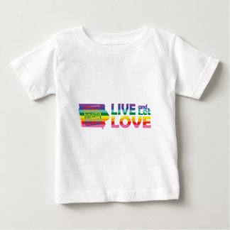 IA Live Let Love Baby T-Shirt