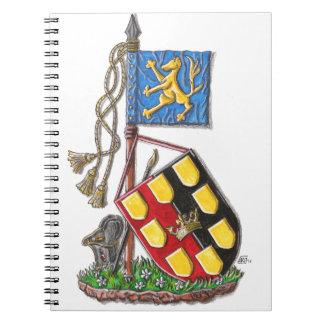 ¡IAAH celebra IHD! Libro De Apuntes Con Espiral