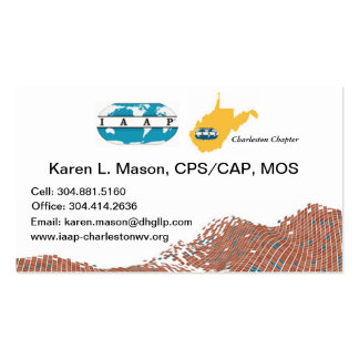 IAAP Chapter Business Cards