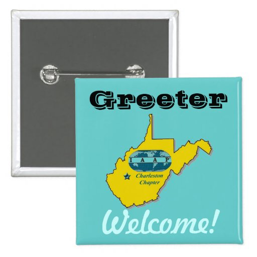 IAAP Greeter Badge Button