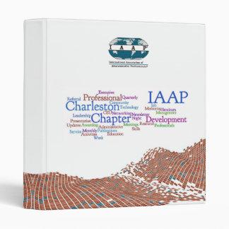 """IAAP WV 1"""" 3-ring binder"""