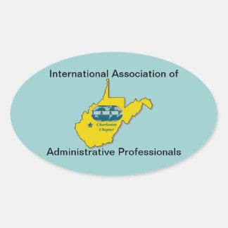 IAAP WV Seals Oval Sticker