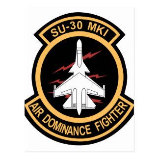 IAF Su-30MKI patch Postcard