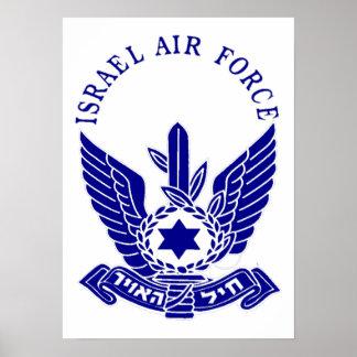 IAF y marina de guerra de Israel Poster
