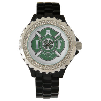 IAFF Irish - Shamrock Watch