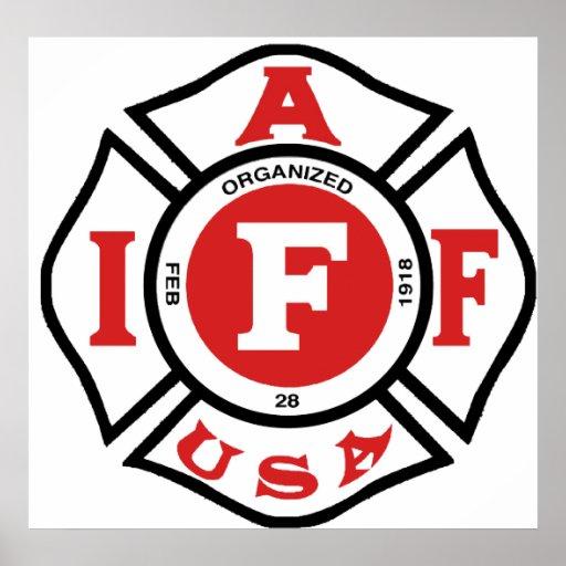 iaff logo poster