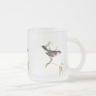 Iago Sparrow Frosted Glass Coffee Mug