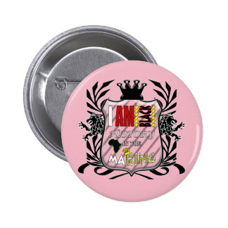 IAHH - I AM BLACK HISTORY IN THE MAKING BUTTON