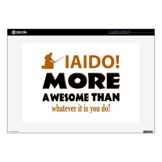 "IAIDO DESIGN DECAL FOR 15"" LAPTOP"