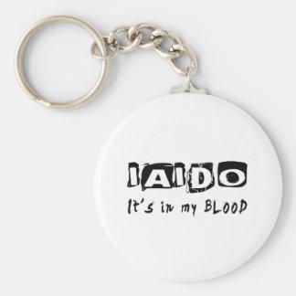 Iaido It's in my blood Basic Round Button Keychain