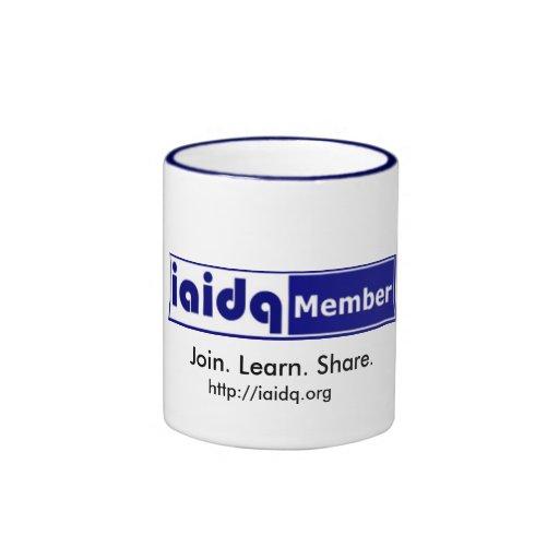 IAIDQ Member Mug