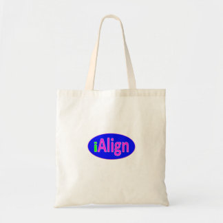 iAlign neon green, blue, and bright pink Tote Bag