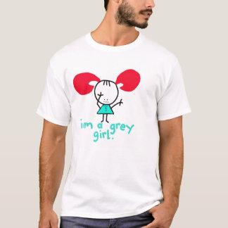 iam a grey girl - Customized T-Shirt