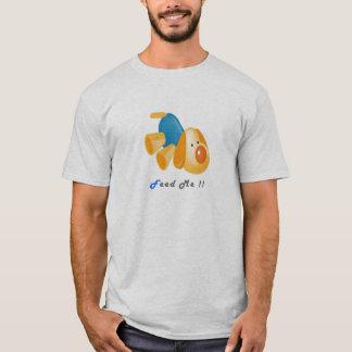 Iam Tired Feed Me Cute Cartoon Dog T-Shirt