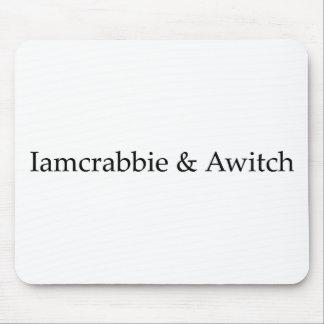Iamcrabbie & Awitch Mouse Pad