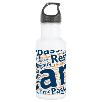 #IAmGeriatrics Stainless Steel Water Bottle