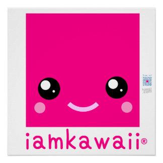 "iamkawaii® 20"" x 20"" Poster Paper (Semi-Gloss)Yay!"