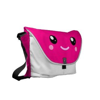 iamkawaii® Cute Pink Medium Size Messenger Bag