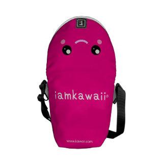 iamkawaii® Cute Pink Mini Messenger Bag Super Girl