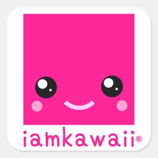 iamkawaii® Fansticker set ! Square Sticker