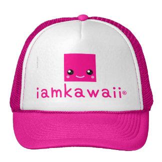 iamkawaii® Superlicious Neon Pink Cap POWER SELLER Trucker Hat