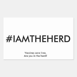 #IAMTHEHERD sticker