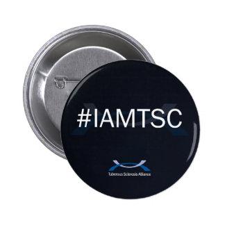 "#IAMTSC 2 1/4"" botón Chapa Redonda 5 Cm"