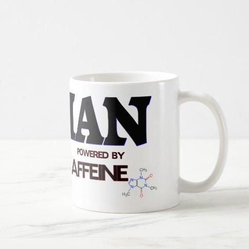 Ian accionó por el cafeína taza básica blanca